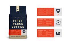 FPC Bag designed by Salih Küçükağa for Garage Design Collective. Packaging Design, Branding Design, Dairy Packaging, Garage Design, Identity, No Response, Design Inspiration, Coffee, Graphic Designers