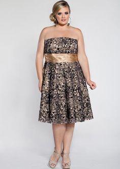 vestidos cortos para gorditas 2