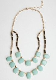 Fresh Mint Necklace