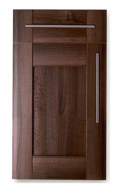Dark walnut cabinet