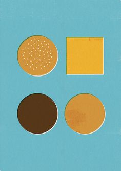 Things Organized Neatly: oxane: cheeseburger by D E M