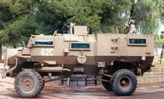 Casspir Mine Protected Vehicle - Tank Encyclopedia South African Air Force, Defence Force, Tactical Survival, Boat Design, Military Weapons, Military History, Military Vehicles, Army, Knives