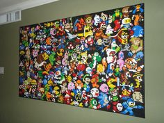 LEGO Wall Mural - a Tribute To Gaming