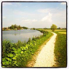 Vlaardingse Vaart. Mijn favoriete route van Vlaardingen naar Schipluiden!