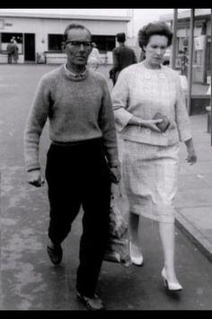 "David Bowie's parents ""John"" Haywood Stenton Jones and ""Peggy"" Margaret Mary Burns."