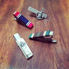 Awesome tie bars, details make the man. At www.ivyprepster.com  #menswear #tiesociety #ties