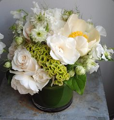 love the lush solidity of this arrangement by sullivan owen