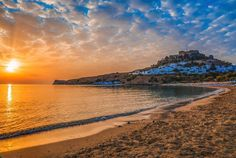 #September #Sunrise at #Lindos! Just 40min from Kouros Home!  #Rhodes #Rodos #Greece