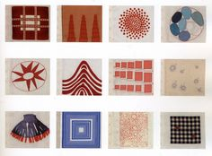 Louise Bourgeois – Fabric Drawings