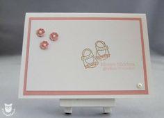 Stampin' Up! Baby Karte Kleine ganz groß, 11 Richtige zum Familienglück