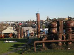Gas Works Park From industrial sludge to family fun: this urban park features an industrial plant-turned kiddie play area as well as a beautiful lake and picnic area