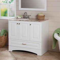 http://www.homedepot.com/p/t/204681799 - this would be the perfect vanity for potential new home!!!