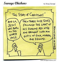 The story of Christmas.