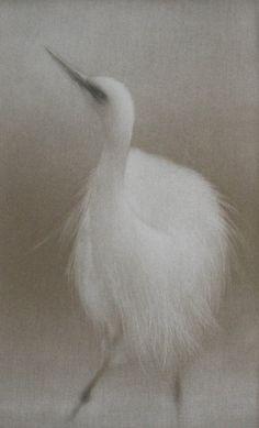 Brume matinal, mezzotint Mikio Watanabe