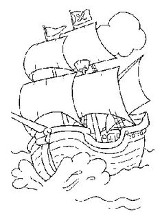 Free Coloring Pages Pirates