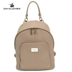 f20549458c78 DAVIDJONES women shoulder bag pu leather female backpack large lady travel  school bag girl brand teenager