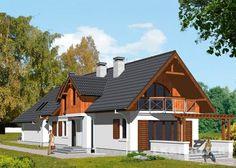 Projekty domów LK Projekt LK&372 zdjęcie wiodące