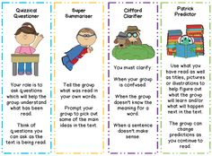 Reciprocal Reading Bookmarks {Free} --- These are great for independent reading. It helps remind students of their roles in the reciprocal teaching process. Reciprocal teaching refers to an instructional activity in which students become the teacher in small group reading sessions. Teachers model, then help students learn to guide group discussions using four strategies: summarising, question generating, clarifying, and predicting. Once students have learned the strategies, they take turns…