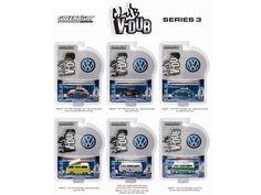 Greenlight Vee V Dub Series 3, 6pc Diecast Car Set 1/64 Diecast Model Cars by Greenlight