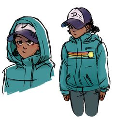 Twdg. Clem wearing her fluffy jacket :D