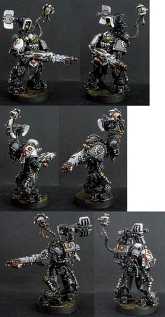 Warhammer 40k | Space Marines | Iron Hands Space Marine #warhammer #40k #40000…