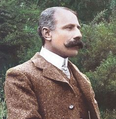 Elgar, E., Salut D'Amour, for violin or violoncello and piano, piano solo track. Classical Music Composers, Sounds Good To Me, Famous Musicians, Concert Hall, Mustache, Singer, People, Piano, Conductors