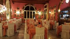 Romantic Dining In Italy Surrounded by Antiques and Vintage China