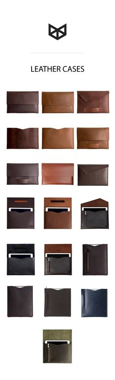 "If you love leather and love apple products this Special Collection is for you. Find a full leather cases collection for you iPad PRO 9.7"" PRO 10.5"" and  PRO 12.9, and for your Macbook AIR 11"" 12"" AIR 13"" PRO RETINA 13"" PRO TOUCH BAR 13"" PRO RETINA 15"" PRO TOUCH BAR 15"". Handmade leather cases for your technology gadgets . Unique Apple accessories."