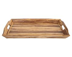 Tiger bamboo tray - $54; this looks so much like our floors, www.bamboo-home.com!