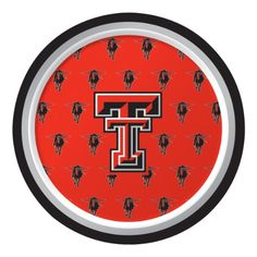 "Creative Converting Texas Tech Red Raiders Dessert Paper Plates (8 Count) $2.49 Collegiate NCAA team logo dessert paper plates Measures 7"" diameter 8 count The perfect supplies for your tailgating, Bowl game or sports themed party - show your team spirit and pride See Creative Converting's coordinating line of party favors and dinnerware - inflatable fingers, wrist bands, head bands, pom poms, cheer sticks, cups, plates, napkins, chip trays and dcor"