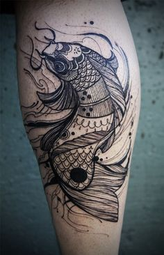 Coy Tattoo. nicely done by David Hale.