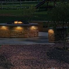 Beau Retaining Wall Lighting