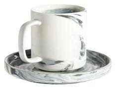 Tasse à café et soucoupe Habitat