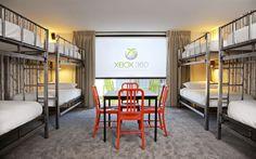 basecamp hostel room