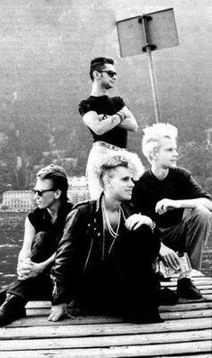 #DepecheMode 🇬🇧 = #Dave #Martin #Alan #Fletch #incredible #astonishing #goodlooking #DM #team #devotee #loveforever  ·