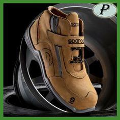 Botas Sparco Racing de piel. Calzado deportivo de seguridad Sparco R H. Ver 0c1b1af1193