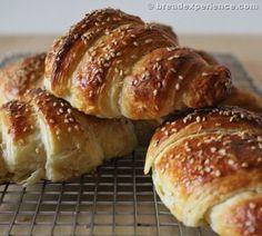 Pretzel Croissants made with KAMUT