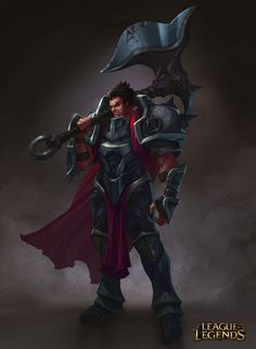 League of Legends, Darius, LoL, Art