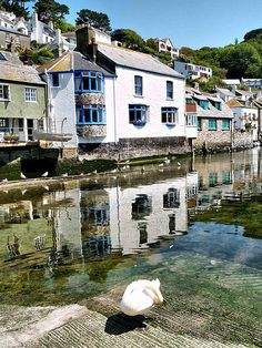 Polperro Slipway - Cornwall, England. Another pinned says: this is genuinely one of the most beautiful towns I have ever been to
