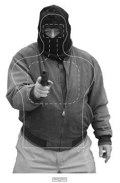 Georgia Law Enforcement Training Target