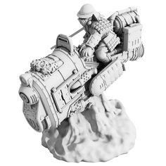 Empire of the Blazing Sun Ryuma Steambikes | Spartan Games | Not a ground vehicle, of course, but probably belongs here with the steam tanks .