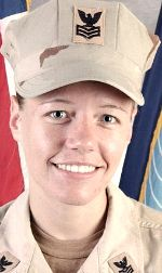 Navy PO1 Jennifer A. Valdivia, 27, of Cambridge, Illinois. Died January 16, 2007, serving during Operation Iraqi Freedom. Assigned to naval security force for Naval Support Activity, Bahrain. Died of an unspecified cause in a non-combat-related incident in Bahrain.