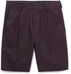 COS - Stretch-Cotton Twill Shorts | MR PORTER