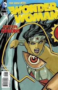 Wonder Woman #15 Brian Azzarello Cliff Chiang ---> shipping is $0.01 !!!