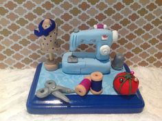 Seamstress business card holdersewing machine by NaomisSweetStuff, $30.00
