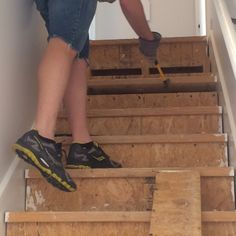 Best How To Install Hardwood Stair Treads And Risers Home 640 x 480