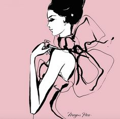 Behind the Scenes with Fashion Illustrator Megan Hess