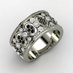 Gothic Wedding Rings