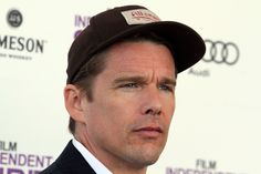 Ethan Green Hawke - one of many moments with his fans.