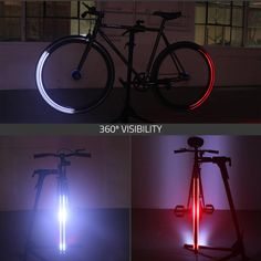 "Revolights Skyline - 26"" - Revolights - Bike Lights (obviously, for a trike I'd need an extra taillight set)"